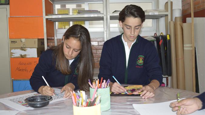 Colegio Buena Tierra, Art
