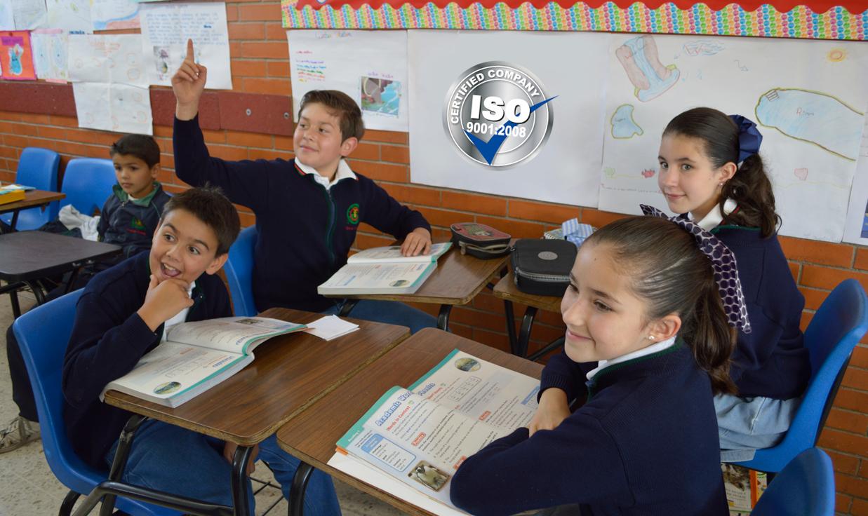 Colegio Buena Tierra, ISO 9001:2008