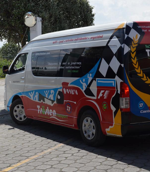 Colegio Buena Tierra, Transportation