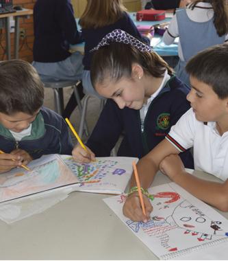 Colegio Buena Tierra, Arte