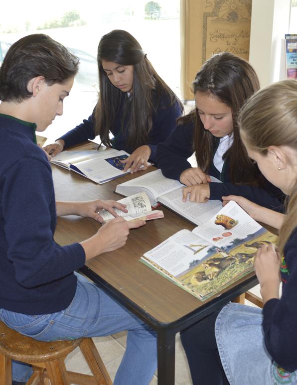 Colegio Buena Tierra, Lectura