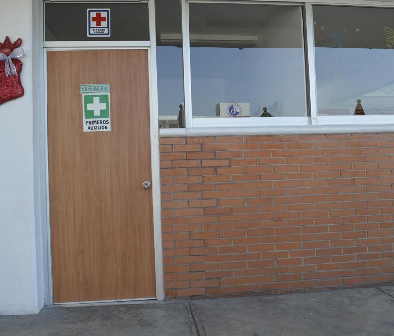 Colegio Buena Tierra, Enfermería