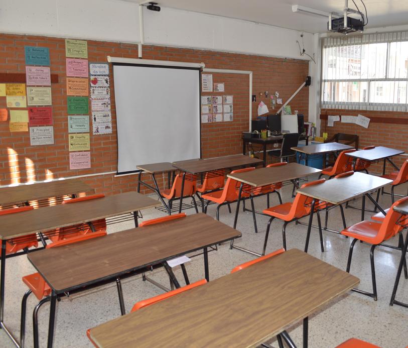 Colegio Buena Tierra, Salón de usos Múltiples