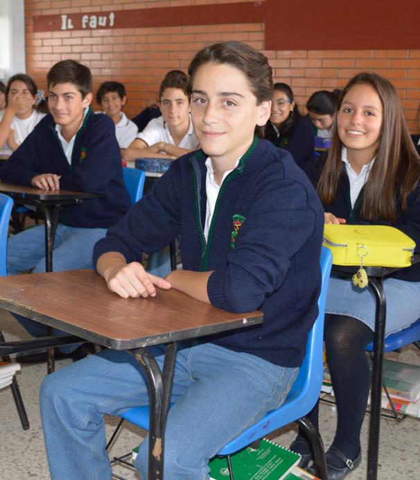 Colegio Buena Tierra, Secundaria